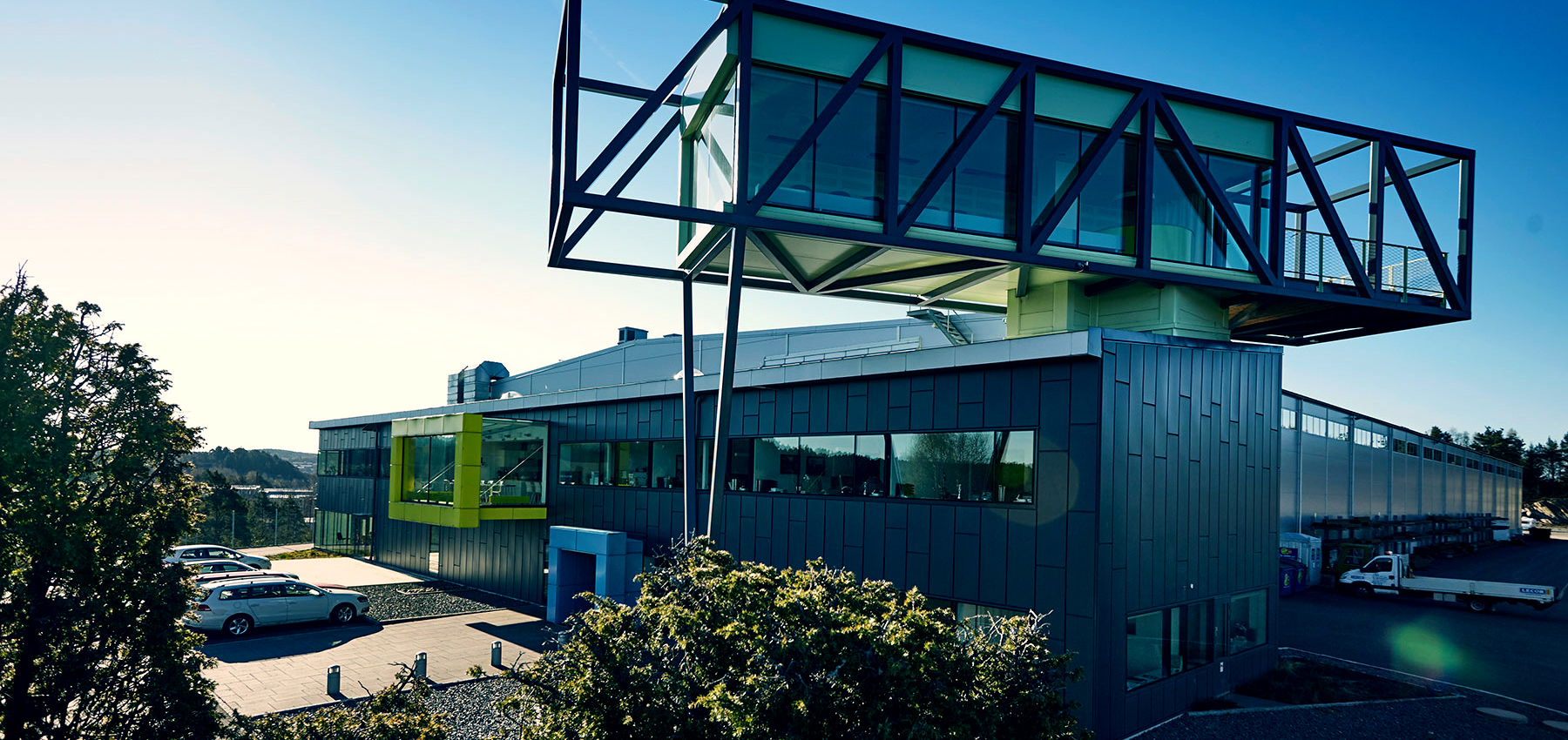 Bild på Lecors kontorsbyggnad